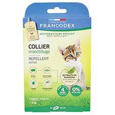 Collier insectifuge pour les chatons