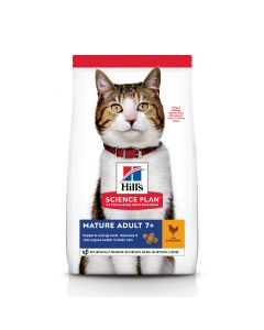 HILL'S SCIENCE PLAN Senior Vitality Mature Croquettes chat +7ans