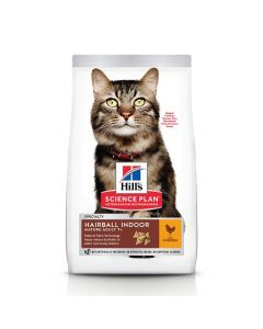 HILL'S SCIENCE PLAN Mature Hairball Indoor. 1,5 kg. Croquettes chat