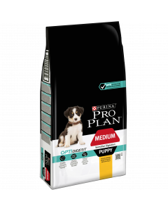 PURINA PRO PLAN Puppy Medium Sensitive Digestion. Croquettes chiot