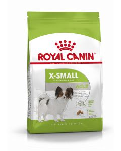 ROYAL CANIN X-SMALL Adult. Croquettes petit chien adulte pesant -4 kg