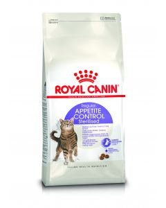 ROYAL CANIN Appetite Controle Sterilised 7+. Croquettes chat senior