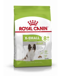 ROYAL CANIN X-Small 8+.  Croquettes Chien Race -4 kg senior