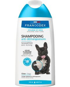 Shampooing anti-démangeaisons pour chiens FRANCODEX