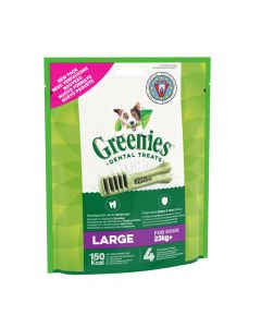 GREENIES Original Large. 170 g. Friandise hygiène bucco-dentaire Grand chien