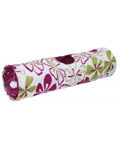 Tunnel de jeu pliable en nylon Flower pour chat KERBL KERBL