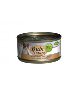 BUBIMEX. Bubi Nature Thon et fromage. 70 g. Terrine pour Chat