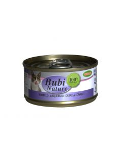 BUBIMEX. Bubi Nature maquereau. 70 g. Terrine pour chat adulte
