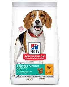 HILL'S SCIENCE PLAN Perfect Weight Medium. Croquettes Chien Medium