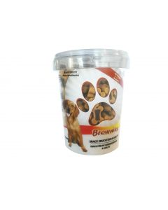 BUBIMEX Bubi Snack Brownies 300 g Friandise moelleuse pour chien