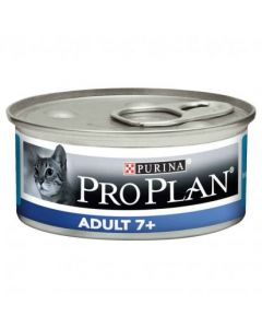 PURINA PRO PLAN Chat ADULT +7. Terrine en mousse pour chat senior