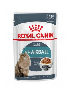 ROYAL CANIN Hairball Care. Sachets fraicheurs pour chat adulte