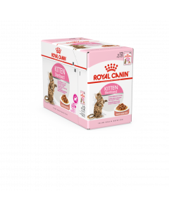 ROYAL CANIN Kitten Sterilised Sauce. 12x85 g. Sachet fraicheur Chaton