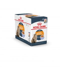 ROYAL CANIN Care Intense Beauty Gelée. Sachet fraicheur Chat adulte