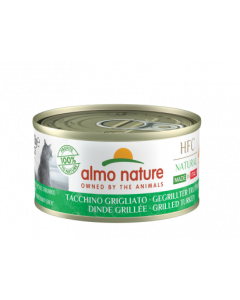 ALMO NATURE Hfc Natural Made In Italy Grain Free Dinde Grillée Chat