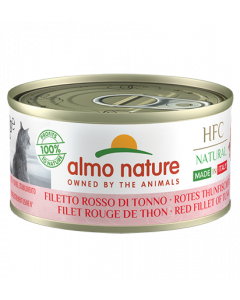 ALMO NATURE Hfc Natural Made In Italy Grain Free Filet rouge de Thon Chat