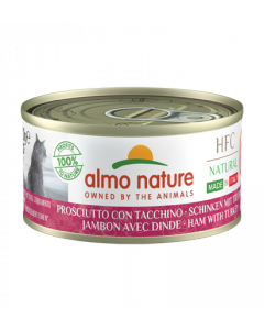 ALMO NATURE Hfc Natural Made In Italy Grain Free Jambon Dinde Chat