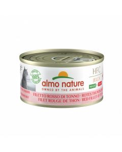 ALMO NATURE Gelée Hfc Natural Made In Italy Grain Free Filet rouge de Thon Chat