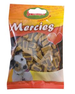 BUBIMEX Bubi Snack Mercies Gibier & Volaille. 100 g. Snack semi humide pour chien