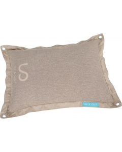 Coussin déhoussable in&out taupe pour chien ZOLUX
