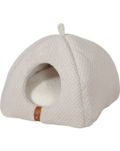 Igloo ouatiné Paloma beige pour chat ZOLUX