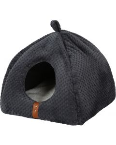Igloo ouatiné Paloma gris pour chat ZOLUX