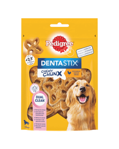 PEDIGREE Dentastix Chewy Chunx Poulet 250g Moyen et grand chien