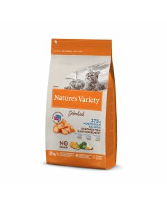 Nature's variety  Selected adult saumon Croquettes chat Premium