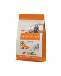Nature's variety  Selected medium adult saumon Croquettes chien 10 kg