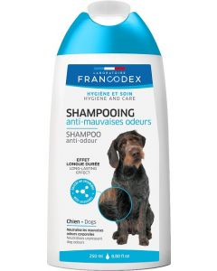 Shampooing anti-mauvaises odeurs 250 ml pour chien FRANCODEX