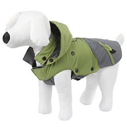 Manteau imperméable et coupe-vent vert pour chien KERBL