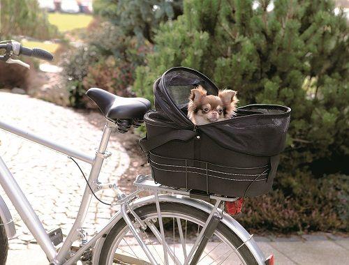 Panier pour vélo chien